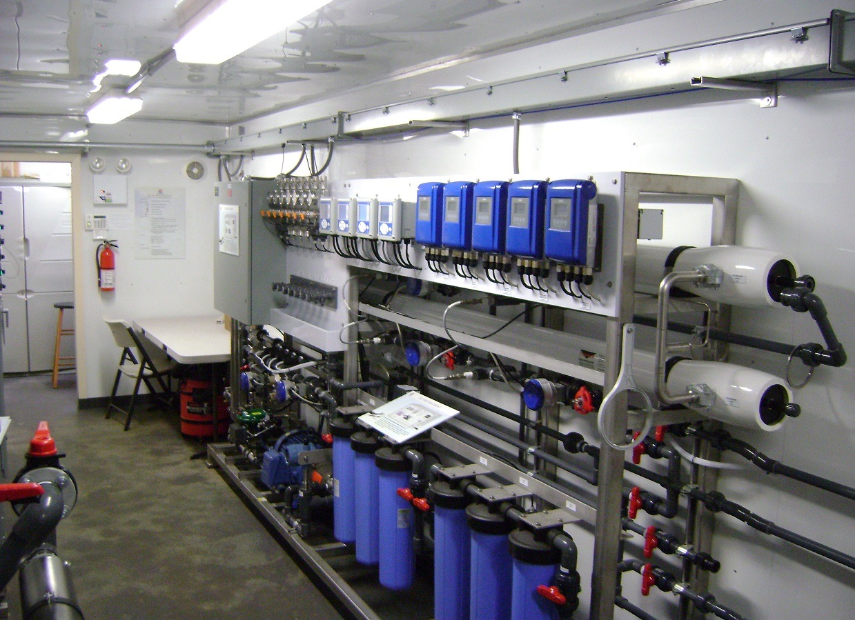 municipal water filtration system